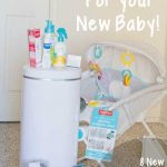 What you need with a new baby: Fill those needs!