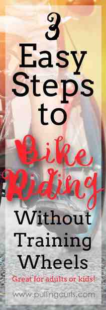 Bicycle Riding Lessons | beginners | bike | kids | training wheels | children | learn | blood | falling via @pullingcurls