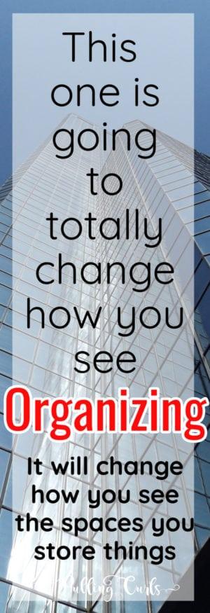 vertical organizing