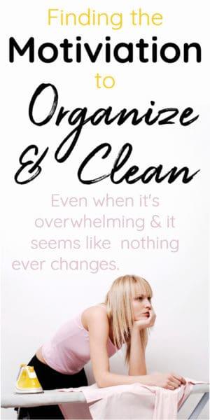 too depressed to clean