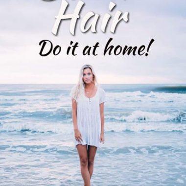 sea salt hair spray | water | curls | hair | beach hair