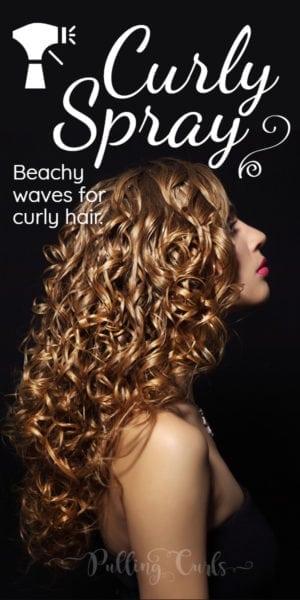 curly spray