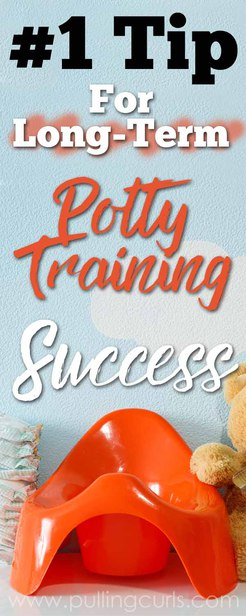 potty training boys | girls | success | in a day | long term | bedwetting via @pullingcurls