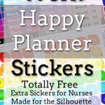 Nurse Happy Planner Stickers