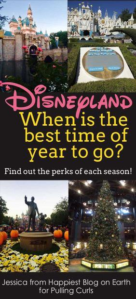 best time of year to go to Disneyland | disneyland tips | Seasons | disneyland ❤️ |