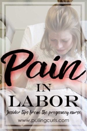 labor pain | pains | relief | epidural | nurse