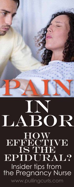 pain in labor | labor and delivery | hospital | pregnant