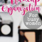 makeup organization | DIY | easy | vanity | ideas | storage