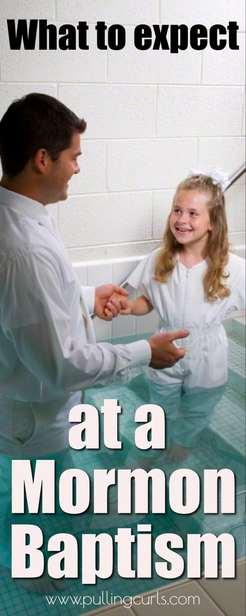 mormon baptisms | LDS baptisms