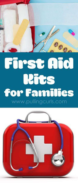 First aid supplies are general things most families keep on hand for emergencies. Great advice from an RN of 20 years.