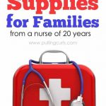 First Aid Supplies – Get prepared!