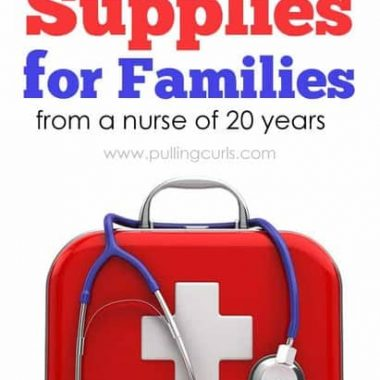 First aid supplies are general things most families keep on hand for emergencies. They aren't going to cover EVERY emergency, but most of them. As an RN for 20 years I have a good idea of what to keep on hand.