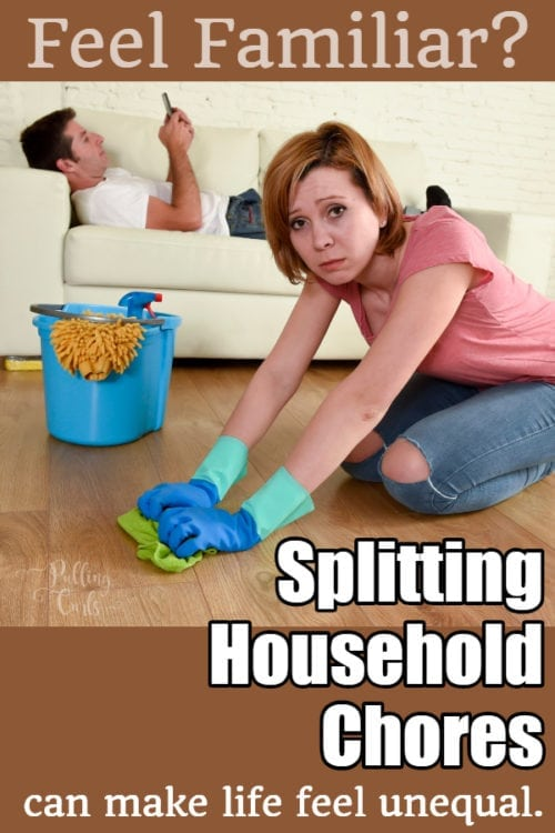 splitting chores in marriage