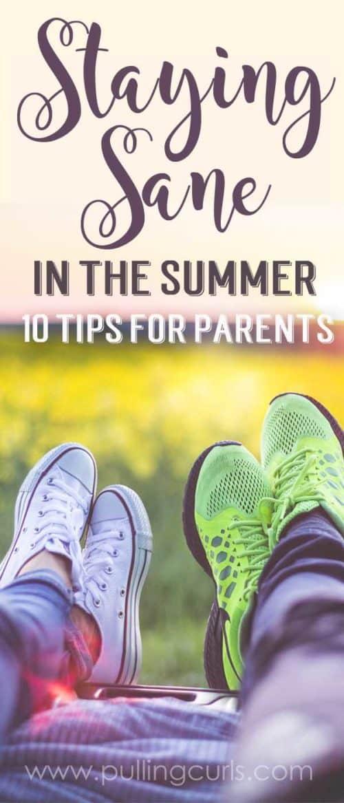 mom during summer | schedule | activities