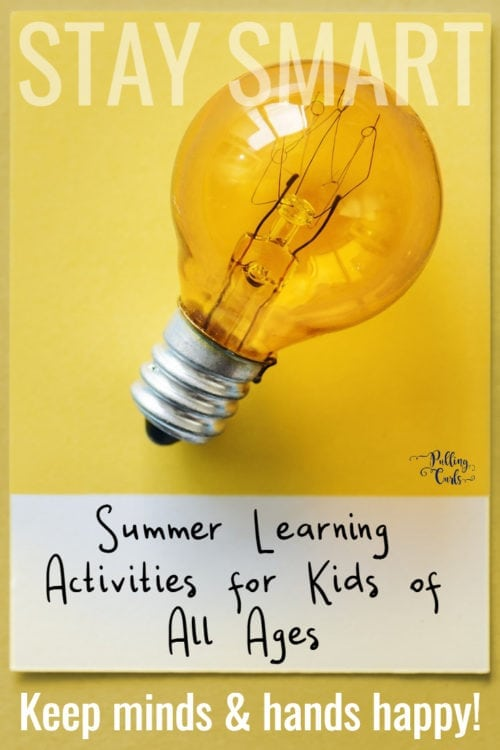 Summer learning for kids