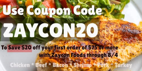 Use ZAYCON20 to save $20 off your order!