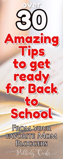 back to school tips | supplies | organization