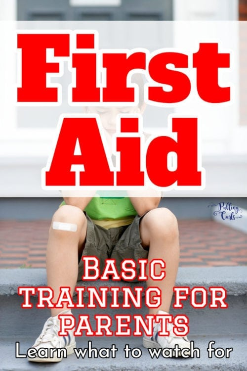 first aid tips for moms