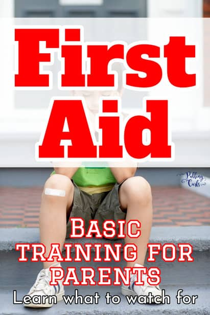 These first aid tips are AWESOME for parents.  Keep cool during the eventual casualties of summer.