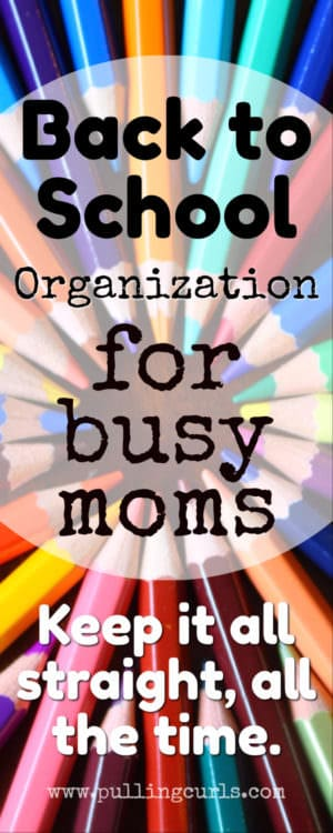 organization / moms / back to school / public / elementary /middle