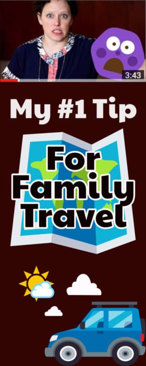 This #1 tip for family travel will change your budget, change your heart and make the trip to any destination better! Includes a YouTube parenting video of my favorite family travel story.