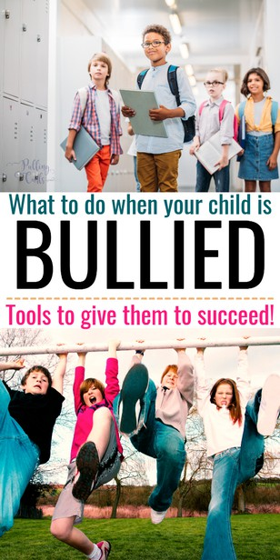 "Bullying is a target word anymore.  Kids cry that they're being ""bullied"" even when it's harmless teasing.  How can you tell the difference and what do you do if your child is being bullied? via @pullingcurls"