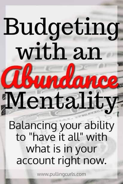 Abundance mentality budgeting is a way of sound accounting combined with being able to receive all the abundance that is offered to you!  It's a difficult balance. Tips / money / living on a budget / grocery / family