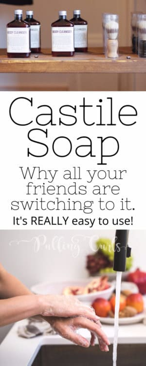 Castile Soap uses vary widly -- shampoo, face wash, bodywash, laundry detergent, cleaner. You can easily DIY your favorite places!