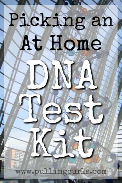 DNA test kits.