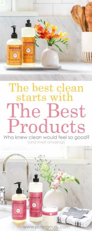 Clean products don't JUST clean -- they must have the ability to clean great, but also be good to our environment -- what method do you use to find them?