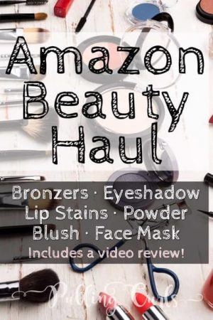 Amazon Beauty Haul - Blush, bronzer, eyeshadow, face masks, lip stains