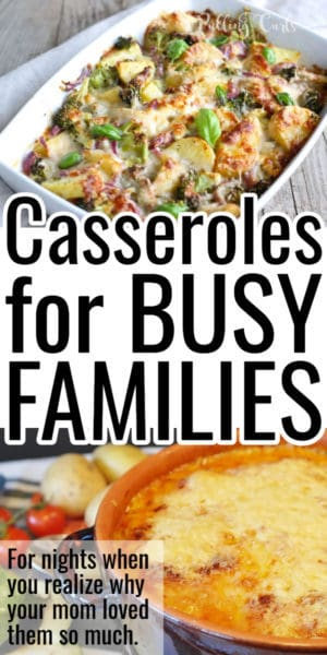 casseroles for busy nights