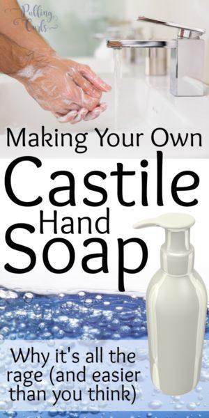 Using castile soap