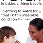 How to Fix a Fever:  Children, fevers and how to fix them!