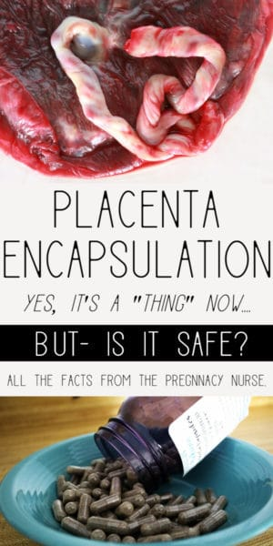 benfeits to eating your placenta