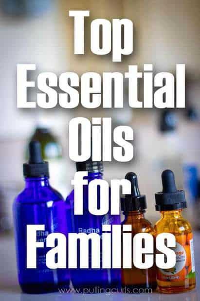 Top Essential Oils:  Top 5 to keep on hand for families