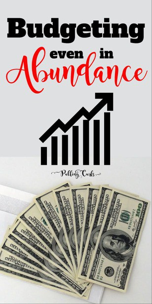 Abundance mentality budgeting is a way of sound accounting combined with being able to receive all the abundance that is offered to you!  It's a difficult balance. Tips / money / living on a budget / grocery / family via @pullingcurls