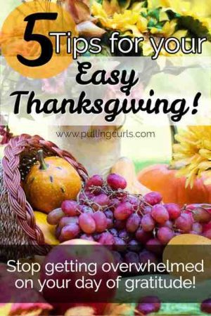 5 tips for a simple Thanksgiving / turkey / ham / family / home