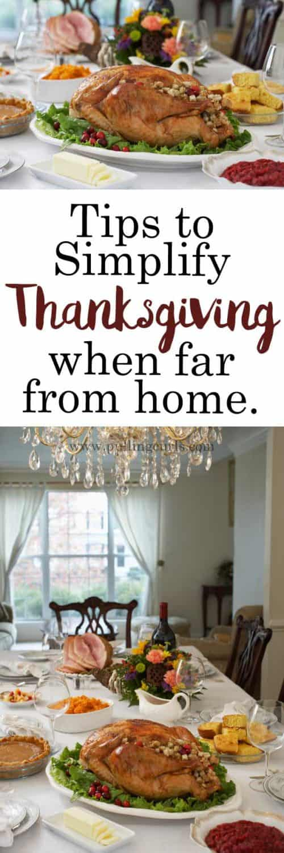Simple Thanksgiving / menu / desserts / Dinner / sides / meal / DIY / ideas / buffet