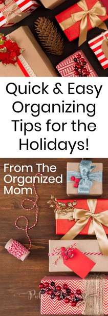 Christmas organization / holidays / wrapping / gifts / free printable