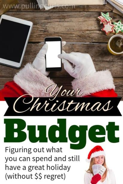 deciding on your Christmas budget