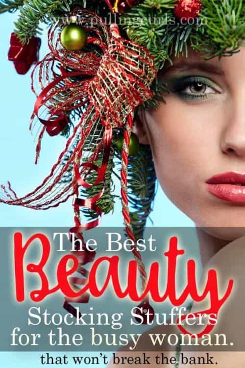 Beauty stocking stuffers/ moisturizer / lip balm