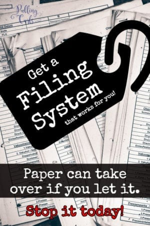 Creat a filing system