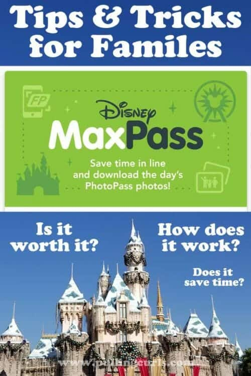 Disneyland Maxpasss Tips