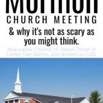 What going to a Mormon Church Like?