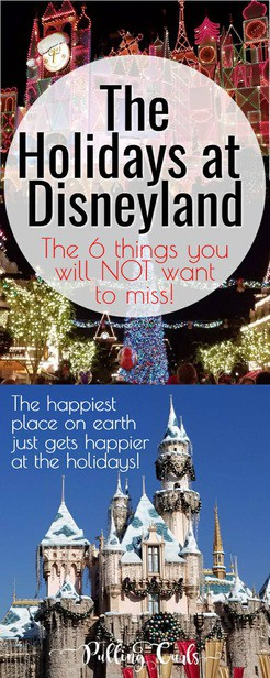 Christmas at Disneyland / holidays / candlelight / decorations / small world