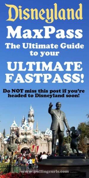 Disneyland MaxPass Tips