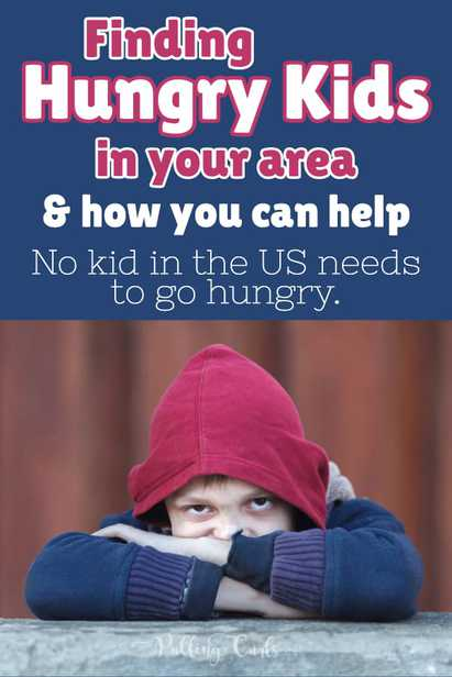 Finding Hungry kids in the US and helping them.