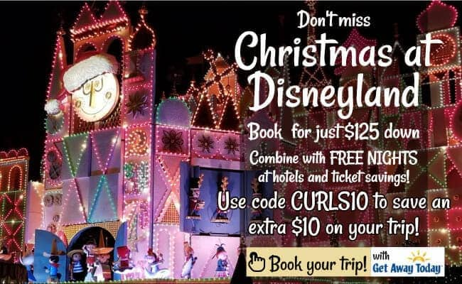 Christmas at Disneyland with Get Away Today