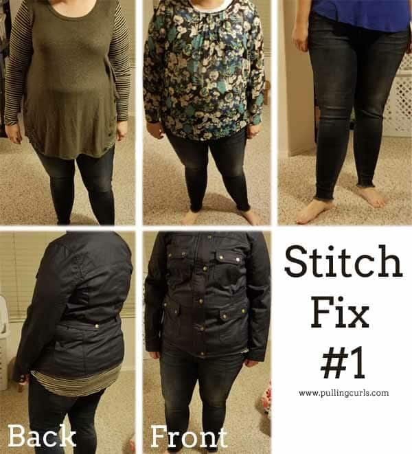 Pulling Curls Stitch Fix #1